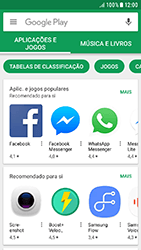 Samsung Galaxy A3 (2016) - Android Nougat - Aplicações - Como pesquisar e instalar aplicações -  4