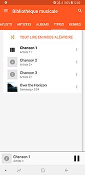 Samsung Galaxy A7 2018 - Photos, vidéos, musique - Ecouter de la musique - Étape 9