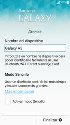 Samsung Galaxy A3 - Primeros pasos - Activar el equipo - Paso 14