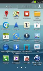 Samsung I9100 Galaxy S II - Applicaties - Account aanmaken - Stap 3