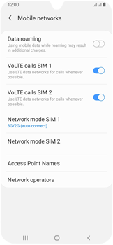 Samsung Galaxy A40 - Network - Enable 4G/LTE - Step 6