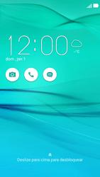 Asus Zenfone 2 - Funções básicas - Como reiniciar o aparelho - Etapa 6