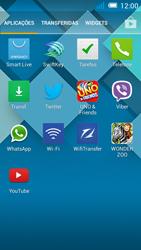 Alcatel POP C7 - Aplicações - Como configurar o WhatsApp -  4