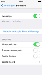 Apple iPhone 5 iOS 7 - MMS - handmatig instellen - Stap 11
