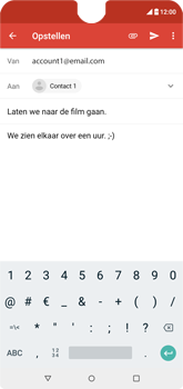 Wiko View 2 - E-mail - e-mail versturen - Stap 8
