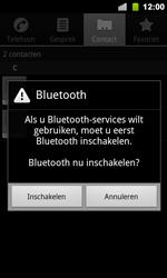 Google Nexus S - Contactgegevens overzetten - delen via Bluetooth - Stap 7