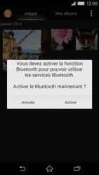 Sony Xperia Z2 - Photos, vidéos, musique - Envoyer une photo via Bluetooth - Étape 10