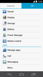 Huawei Ascend P6 LTE - Voicemail - Manual configuration - Step 4