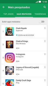 Asus Zenfone Go - Aplicativos - Como baixar aplicativos - Etapa 7