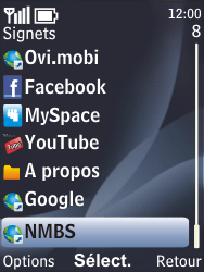 Nokia 6700 classic - Internet - navigation sur Internet - Étape 11
