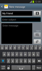 Samsung I8260 Galaxy Core - Mms - Sending a picture message - Step 10