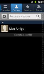 Samsung Galaxy S II - Contatos - Como criar ou editar um contato - Etapa 8