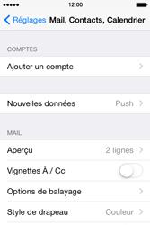 Apple iPhone 4s iOS 8 - E-mail - Configuration manuelle - Étape 4