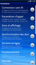Sony Ericsson Xperia X10 - Messagerie vocale - configuration manuelle - Étape 5
