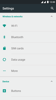 OnePlus 2 - Internet - Manual configuration - Step 4