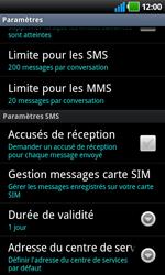 LG P920 Optimus 3D Speed - SMS - Configuration manuelle - Étape 4