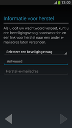 Samsung I9195 Galaxy S IV Mini LTE - Applicaties - Account aanmaken - Stap 12