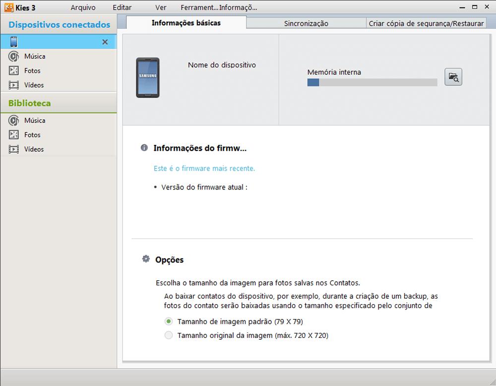 Samsung S5310B Galaxy Pocket Neo - Funções básicas - Como atualizar o software do seu aparelho - Etapa 5