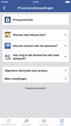 Apple iPhone 6 met iOS 9 (Model A1586) - Privacy - Privacy instellingen van Facebook aanpassen - Stap 6