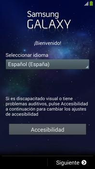 Samsung Galaxy Note 3 - Primeros pasos - Activar el equipo - Paso 2