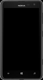 Nokia Lumia 625 - Premiers pas - Découvrir les touches principales - Étape 2