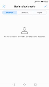 Huawei Mate 9 - E-mail - Escribir y enviar un correo electrónico - Paso 5