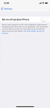 Apple iPhone X - Bellen - WiFi Bellen (VoWiFi) - Stap 5