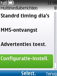 Nokia C2-01 - MMS - automatisch instellen - Stap 9