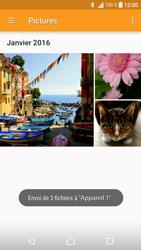 Sony Sony Xperia XA - Photos, vidéos, musique - Envoyer une photo via Bluetooth - Étape 15