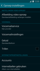 Samsung G900F Galaxy S5 - Voicemail - Handmatig instellen - Stap 5