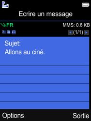 Mobiwire Leyti - Contact, Appels, SMS/MMS - Envoyer un MMS - Étape 9