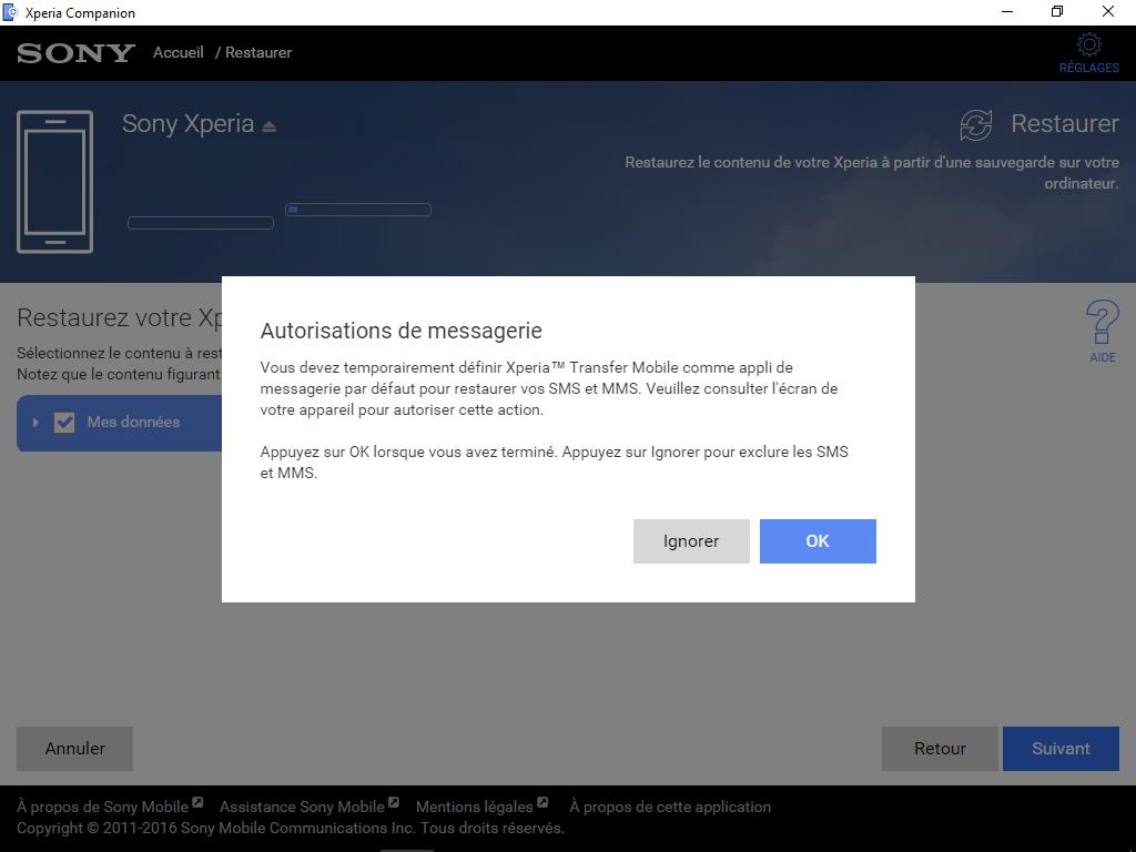Sony Xperia XA2 - Aller plus loin - Gérer vos données avec un ordinateur - Étape 14