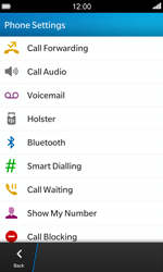 BlackBerry Z10 - Voicemail - Manual configuration - Step 5