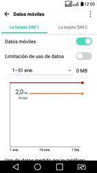 LG K4 (2017) - Internet - Ver uso de datos - Paso 8