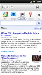 Sony Ericsson Xperia Play - Internet - Navigation sur internet - Étape 7