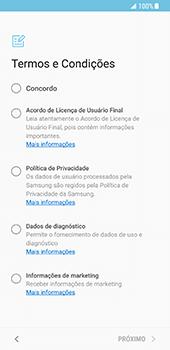 Samsung Galaxy S8 - Primeiros passos - Como ativar seu aparelho - Etapa 5