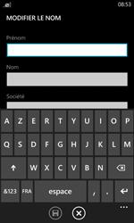 Nokia Lumia 520 - Contact, Appels, SMS/MMS - Ajouter un contact - Étape 6