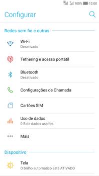 Asus Zenfone Selfie - Wi-Fi - Como usar seu aparelho como um roteador de rede wi-fi - Etapa 4