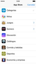 Apple iPhone 6 iOS 8 - Aplicaciones - Descargar aplicaciones - Paso 5
