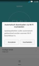 Huawei Y3 - Netwerk - Software updates installeren - Stap 7
