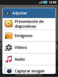Samsung S5570 Galaxy Mini - Mensajería - Escribir y enviar un mensaje multimedia - Paso 9