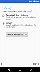 Sony Xperia XA (F3111) - Android Nougat - E-mail - Manual configuration (yahoo) - Step 10