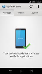 Sony D2203 Xperia E3 - Network - Installing software updates - Step 7