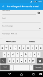 Sony Xperia M5 (E5603) - E-mail - Instellingen KPNMail controleren - Stap 12