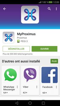 Huawei Mate S - Applications - MyProximus - Étape 9