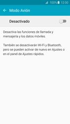 Samsung Galaxy S6 - Funciones básicas - Activar o desactivar el modo avión - Paso 5