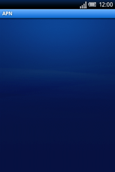 Sony Ericsson Xperia X8 - Internet - Configuration manuelle - Étape 7