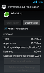 Bouygues Telecom Bs 401 - Applications - Supprimer une application - Étape 6