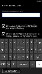 Nokia Lumia 1320 - E-mail - Configuration manuelle - Étape 15