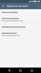 Sony Xperia XZ (F8331) - Red - Seleccionar el tipo de red - Paso 6